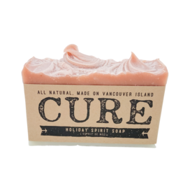 CURE Soaps Holiday Spirit