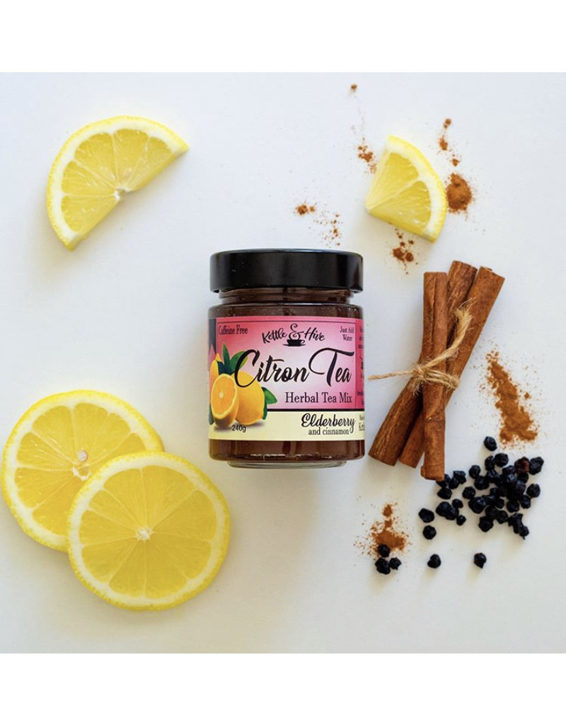 Kettle & Hive Citron Tea Elderberry