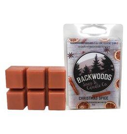 Backwoods Soap & Co Christmas Spice Wax Melt