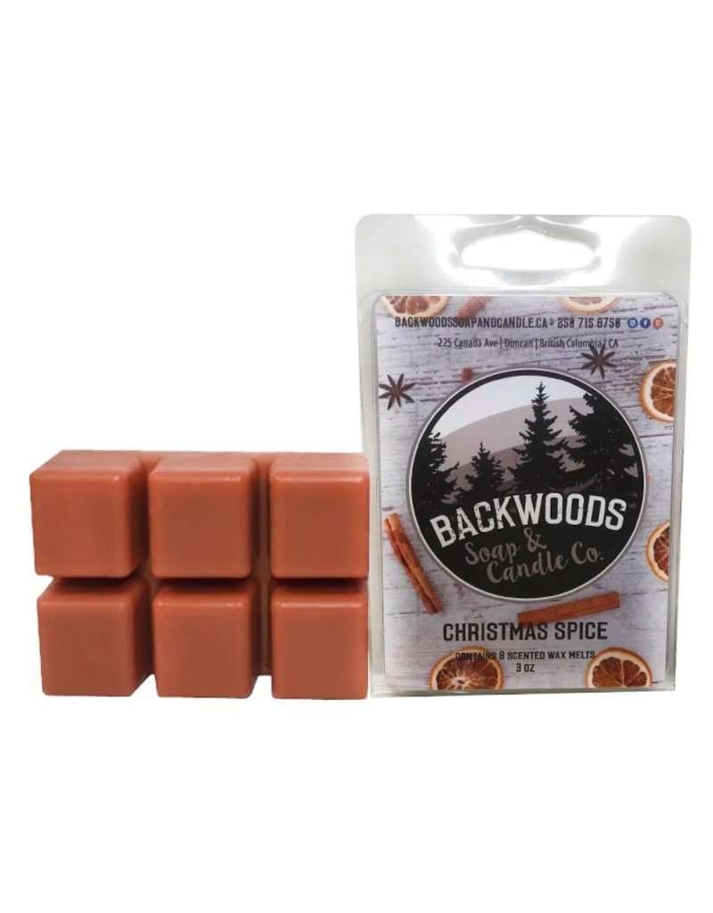 Backwoods Soap & Co Christmas Spice Wax Melt