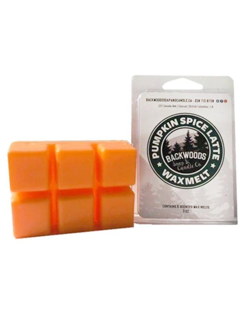 Backwoods Soap & Co Pumpkin Spice Latte Wax Melt