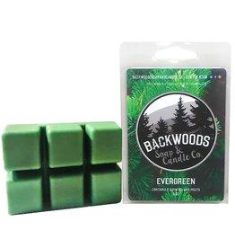 Backwoods Soap & Co Evergreen Wax Melt