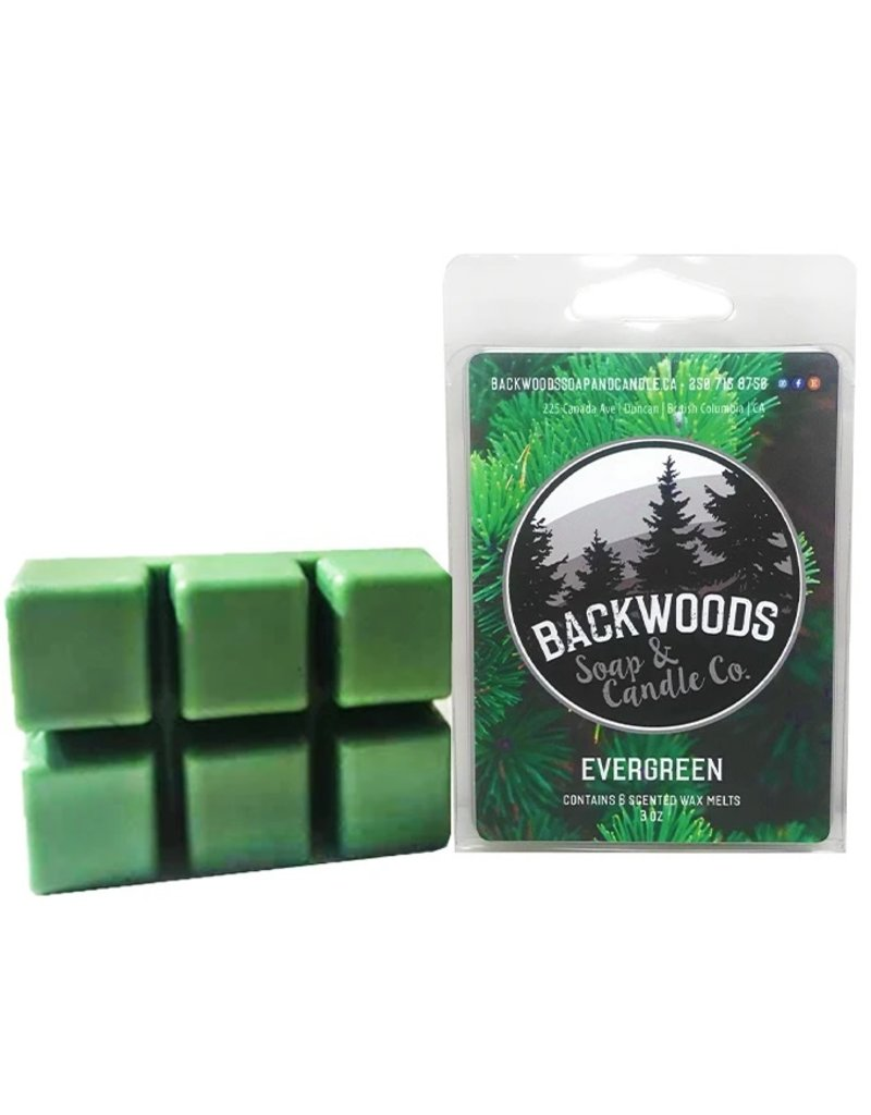 Backwoods Soap & Co Evergreen Wax Melt