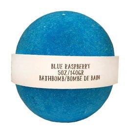 Backwoods Soap & Co Blue Raspberry Bathbomb