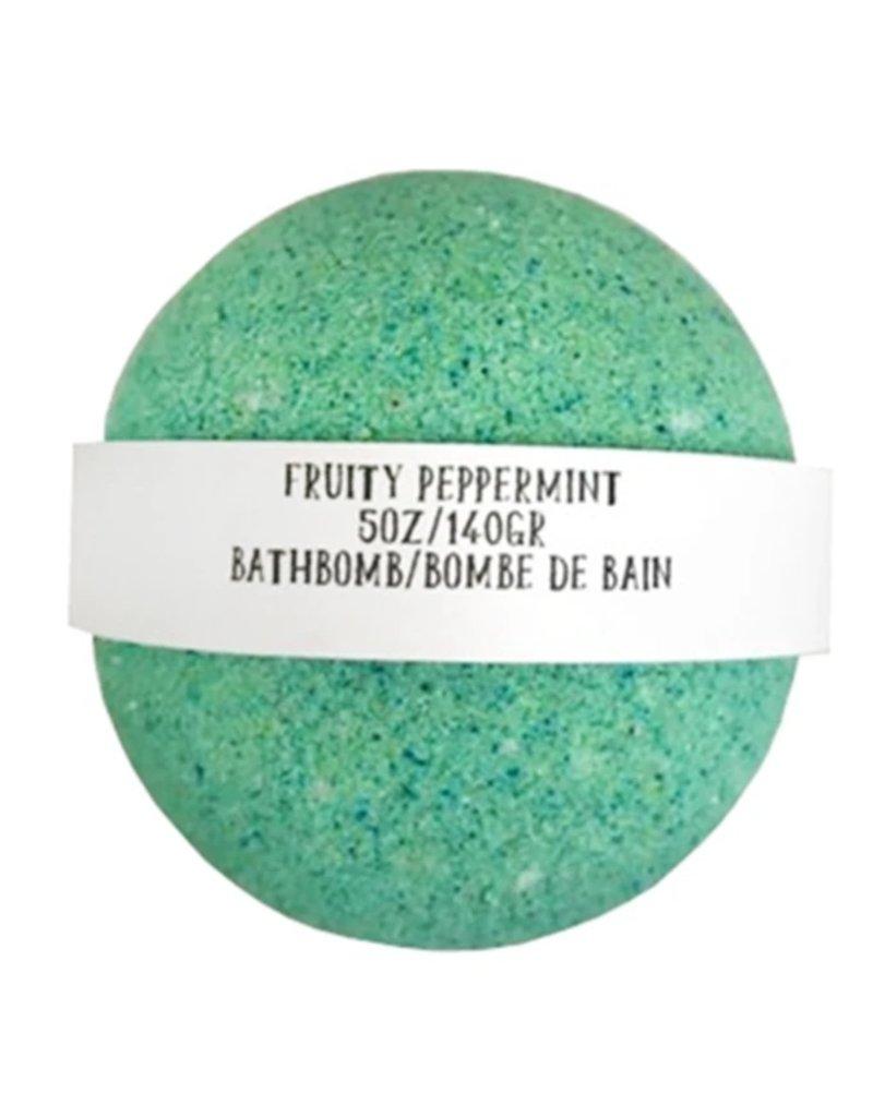 Backwoods Soap & Co Fruity Peppermint Bathbomb