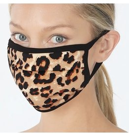 Cultured Coast Leopard Print Mask