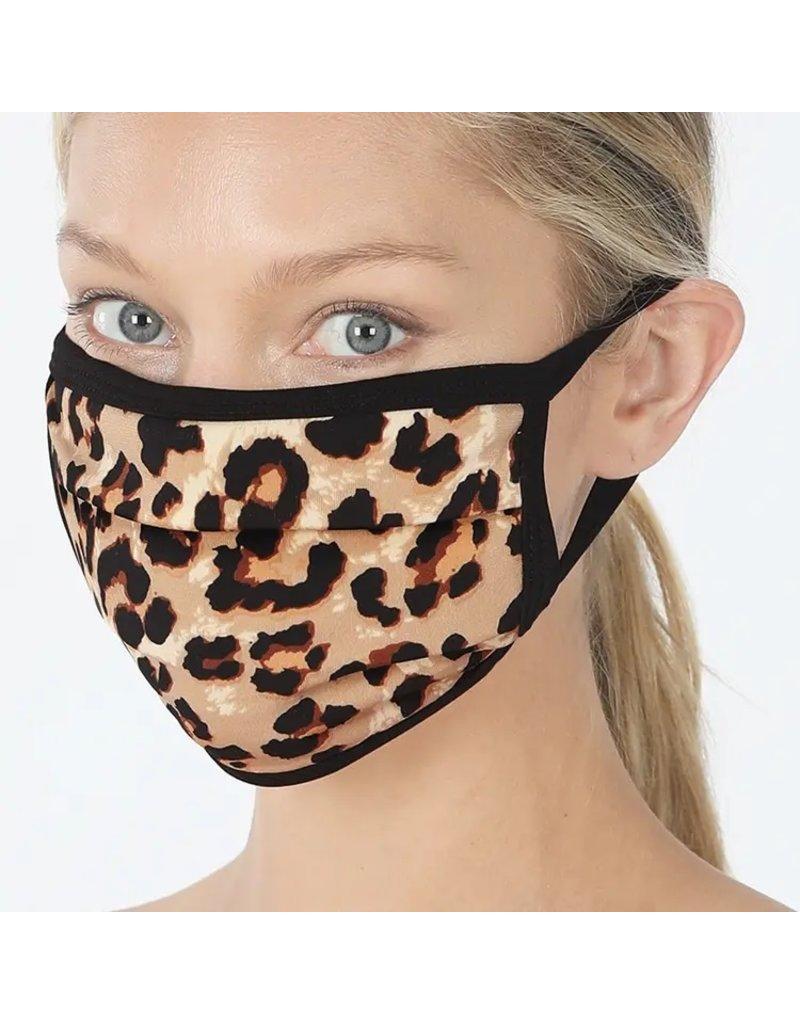 Cultured Coast Leopard Print Mask
