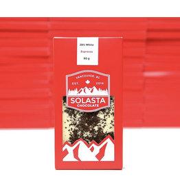 Solasta Espresso 28% White Chocolate