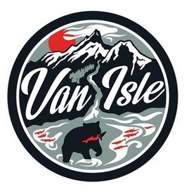 Bough & Antler Van Isle Retro Sticker