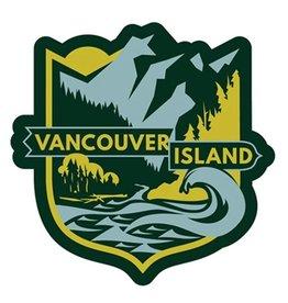 Bough & Antler Mountain Crest Sticker