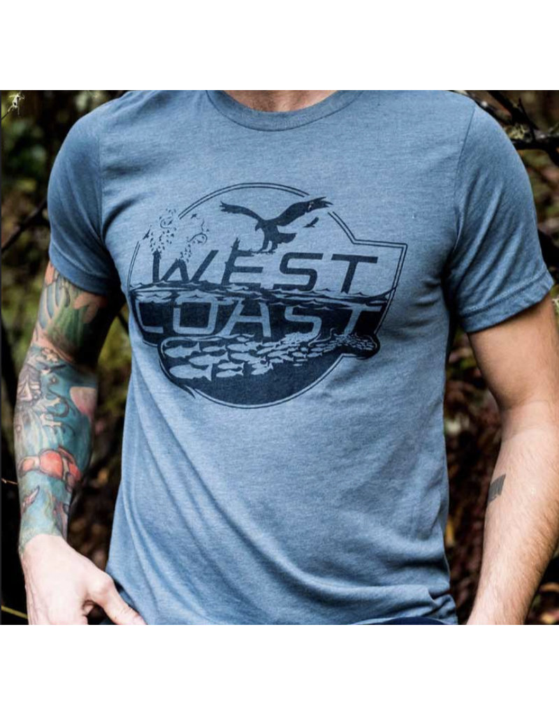 Bough & Antler Fins & Feathers Tee