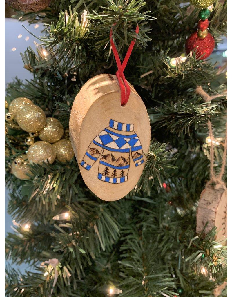 Blue Sweater Ornament