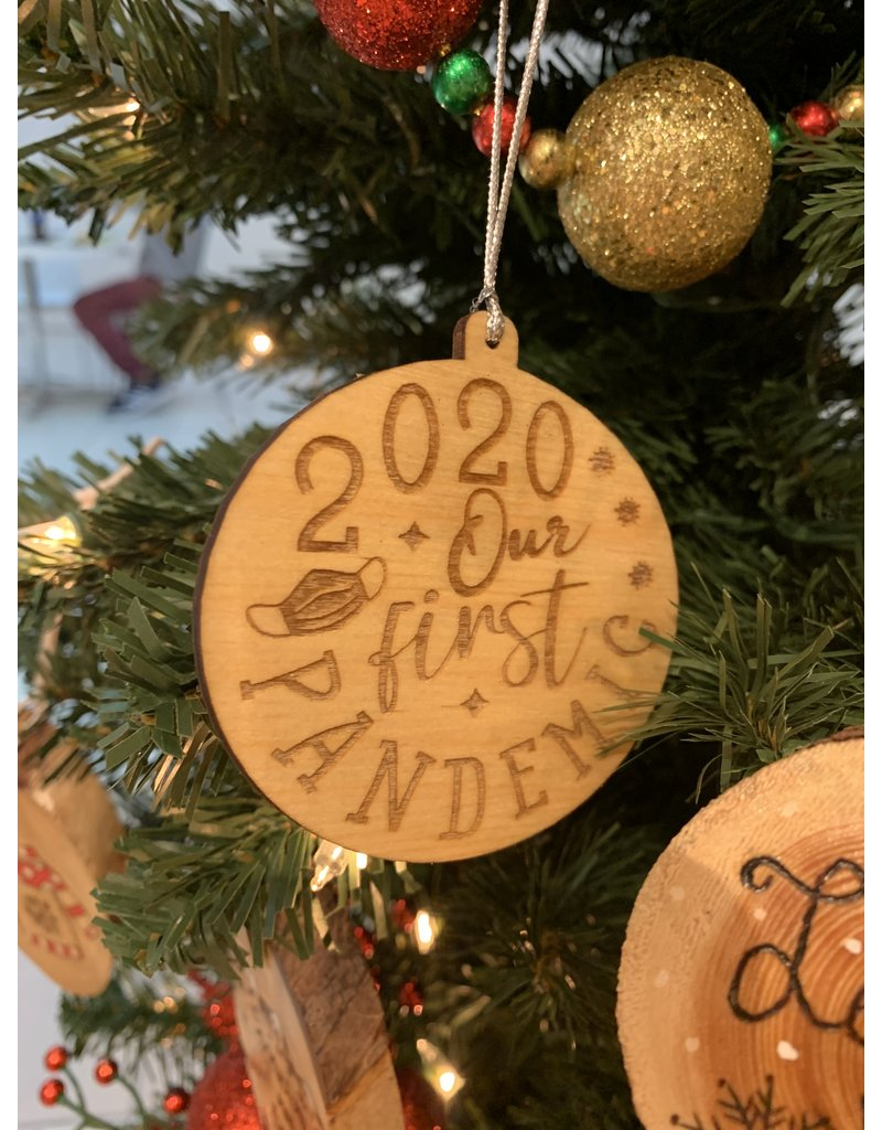 JD Ornaments 2020 Our First Pandemic Ornament
