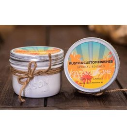 Rustica Custom Finishes Coconut Lime 8oz- Pale Cream Gloss