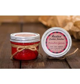 Rustica Custom Finishes Reindeer Games 8oz - Fire Red Glossy