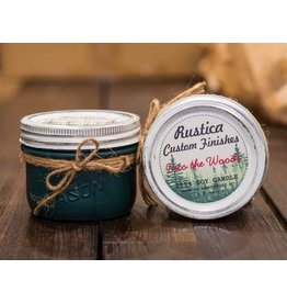Rustica Custom Finishes In to the Woods 8oz- Atlantic Green Matte