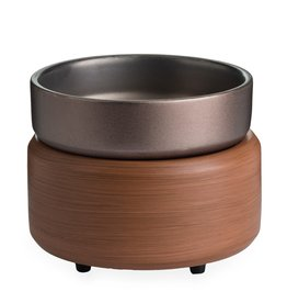 Cultured Coast Pewter Walnut 2 in 1 Warmer