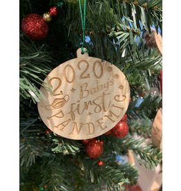 JD Ornaments 2020 Babys First Pandemic