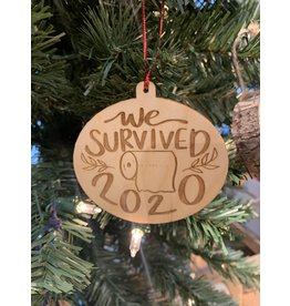 JD Ornaments We Survived 2020 Ornament