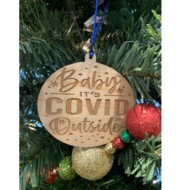 JD Ornaments Baby It's Covid Outside Ornament