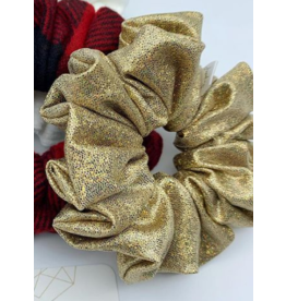 Josefina + Co Gold Sparkly Scrunchie
