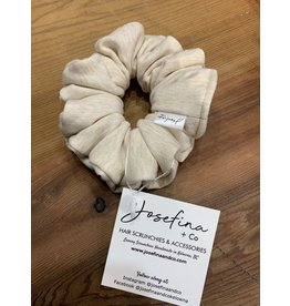 Josefina + Co Cream Scrunchie