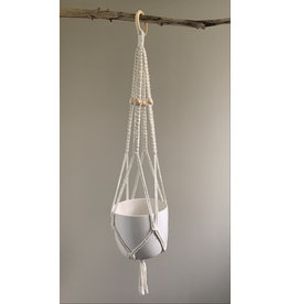 Nordick Knots Plant Hanger - White