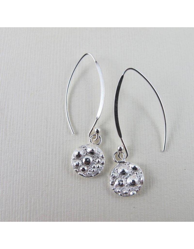 Swallow Jewellery Sea Urchin Mackenzie Beach Teardrop Long Earrings