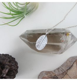 """Swallow Jewellery Wild Rose Leaf 18"""" Necklace"""