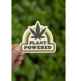 Amanda Weedmark Plant Powered Vinyl Sticker