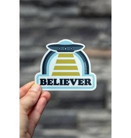 Amanda Weedmark Believer Vinyl Sticker