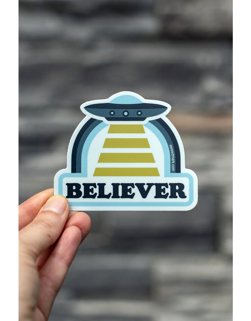 Amanda Weedmark Believer Vinyl Sticker