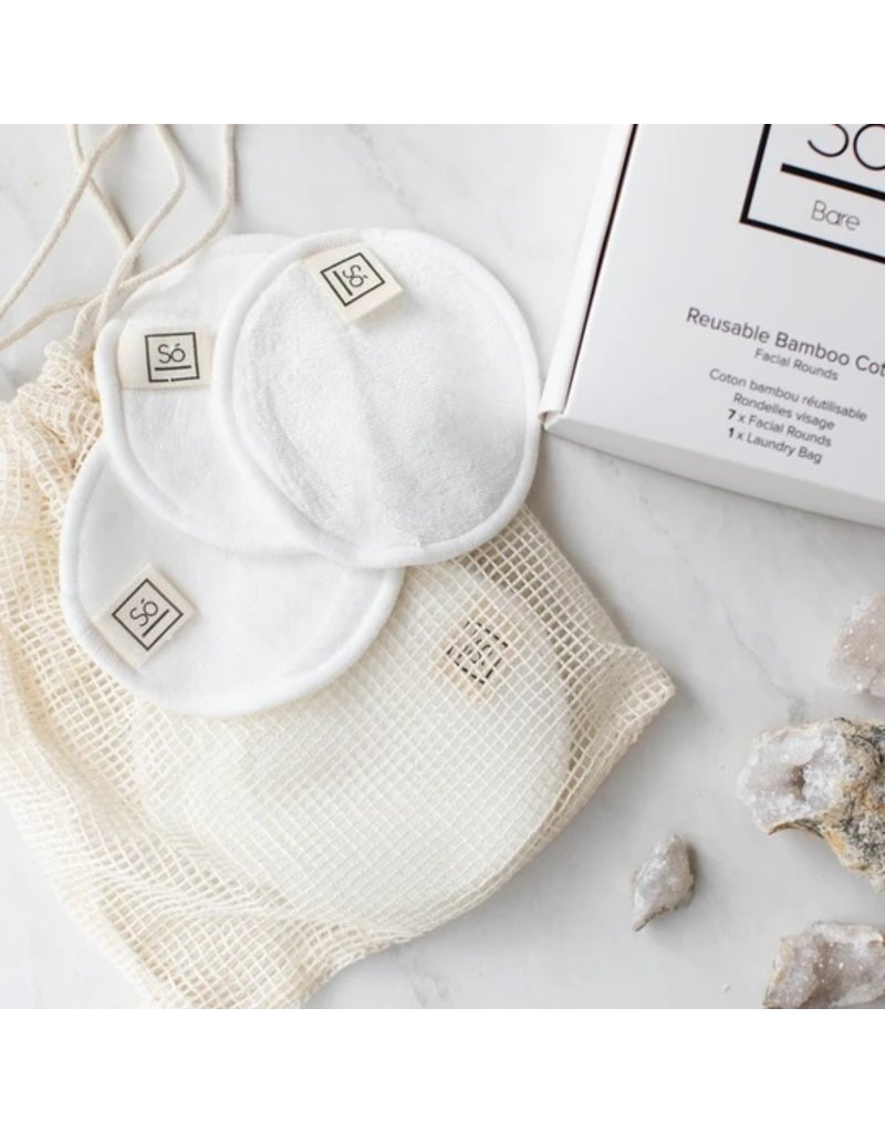 SO Luxury Bamboo Makeup Remover Pads
