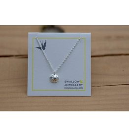 """Swallow Jewellery Moon Snail Shell 16"""" Necklace"""