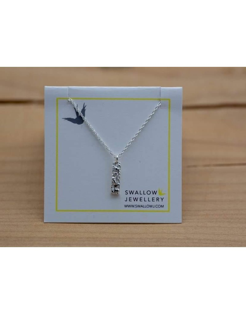"Swallow Jewellery Whale Bonestick 18"" Necklace"