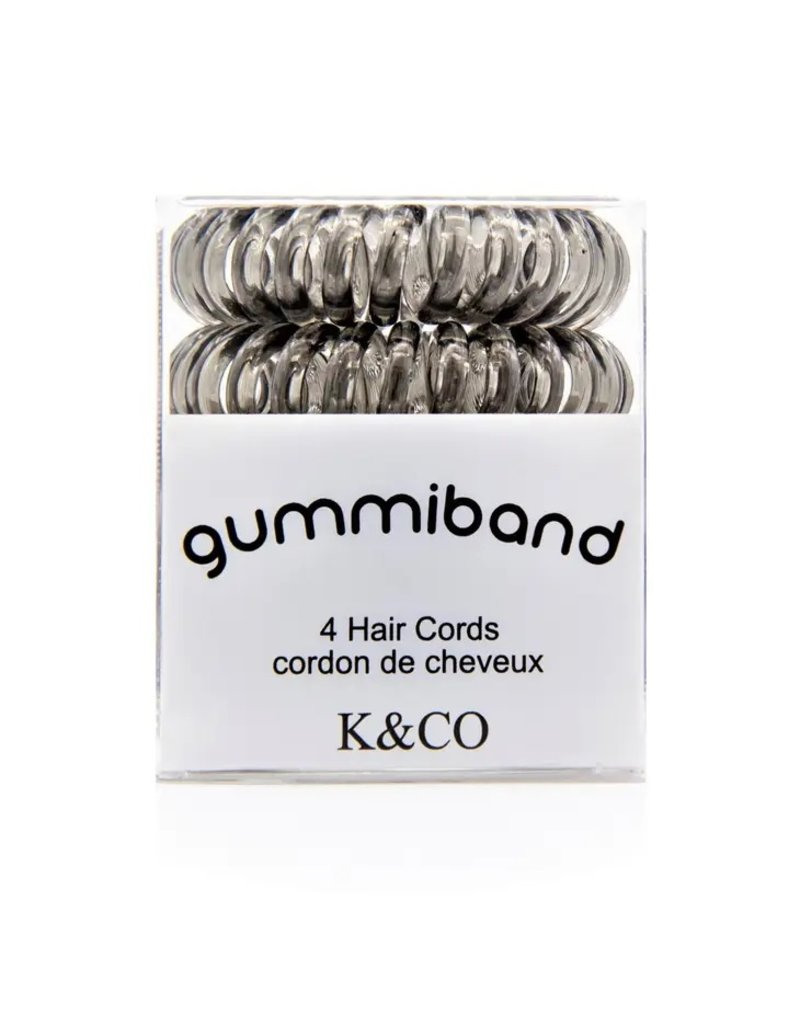 GummiBand Grey Hair Cords