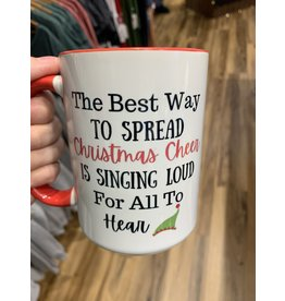 Cultured Coast The best way to spread Christmas cheer 15oz Mug