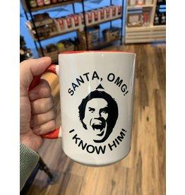 Cultured Coast Santa I know Him 15oz Mug