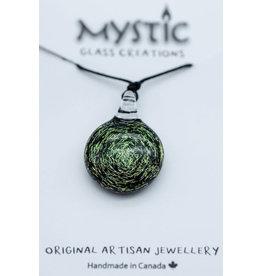 Mystic Glass Creations Galactic Pendant