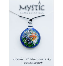 Mystic Glass Creations Tidal Pool Necklace