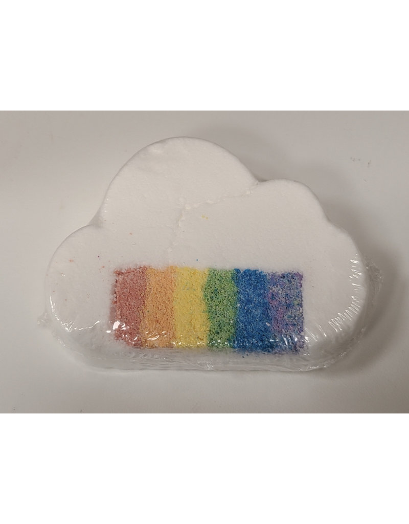 Splish Splash Bath Bombs Rainbow bath bomb