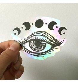 MELI.THELOVER Witchy Eye Moon Suncatcher