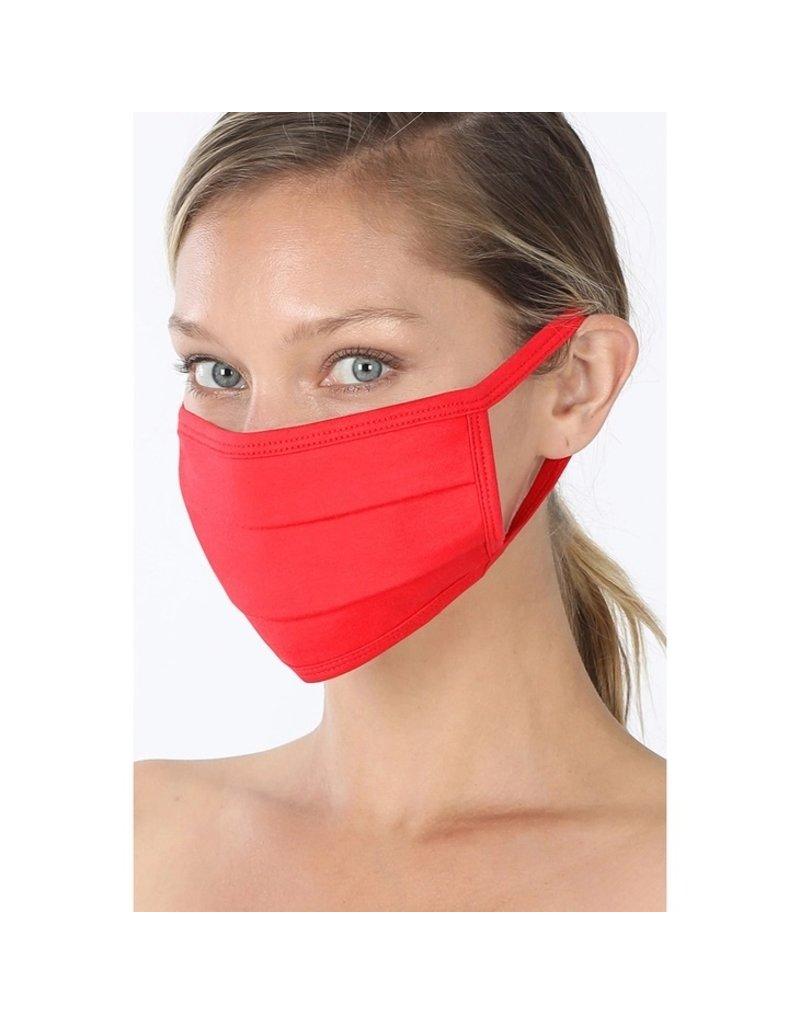 Cultured Coast Red Mask