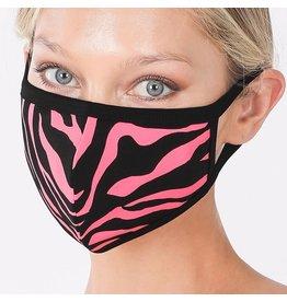 Cultured Coast Pink Zebra Mask