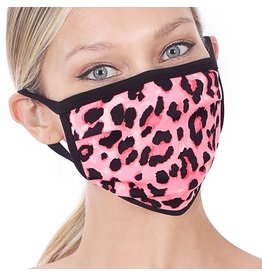 Cultured Coast Pink Leopard Mask
