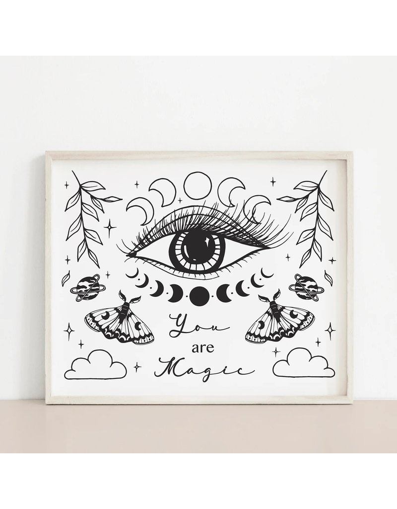 MELI.THELOVER You are magic Print