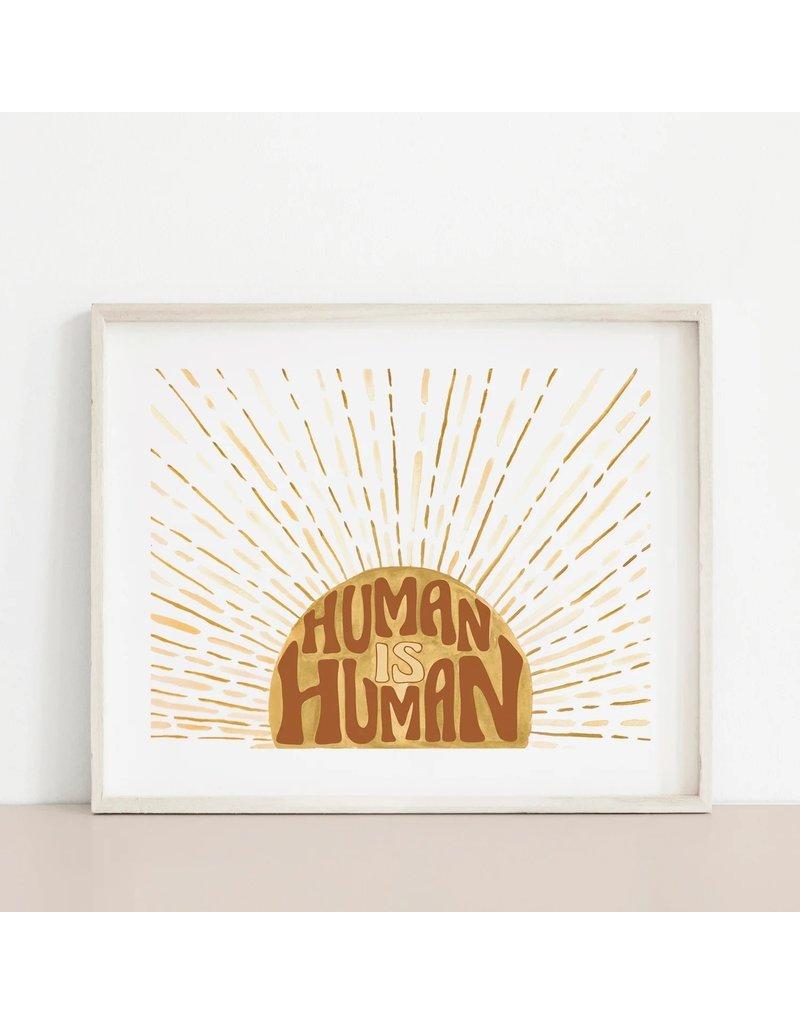 MELI.THELOVER Human is Human Print
