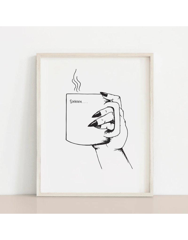 MELI.THELOVER Shhh Mug Print