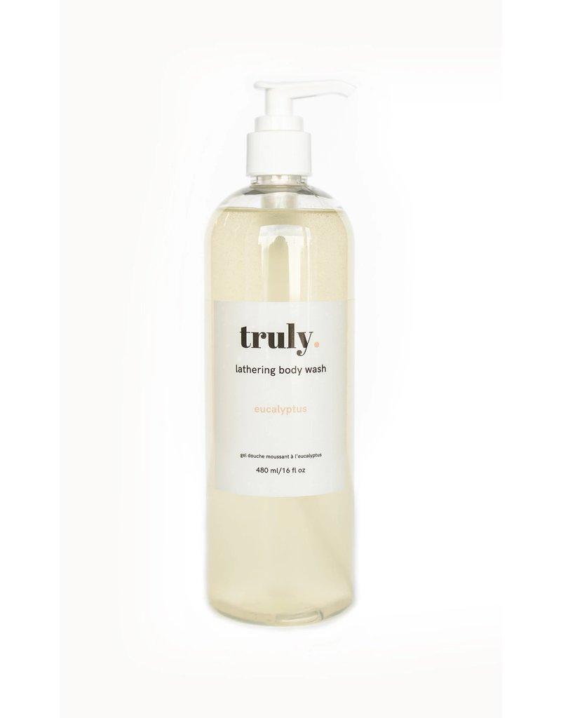 Truly Lifestyle Brand Inc Lathering Body Wash- Eucalyptus 480ml