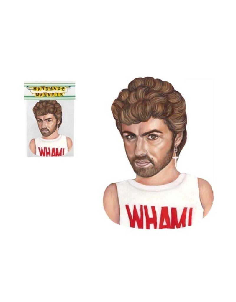 The Dolly Shop George Michael Magnet